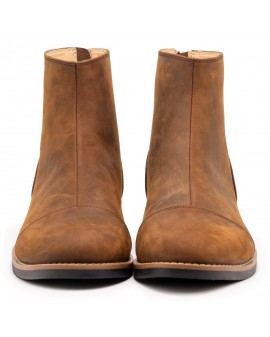 ZIP BOOT BROWN