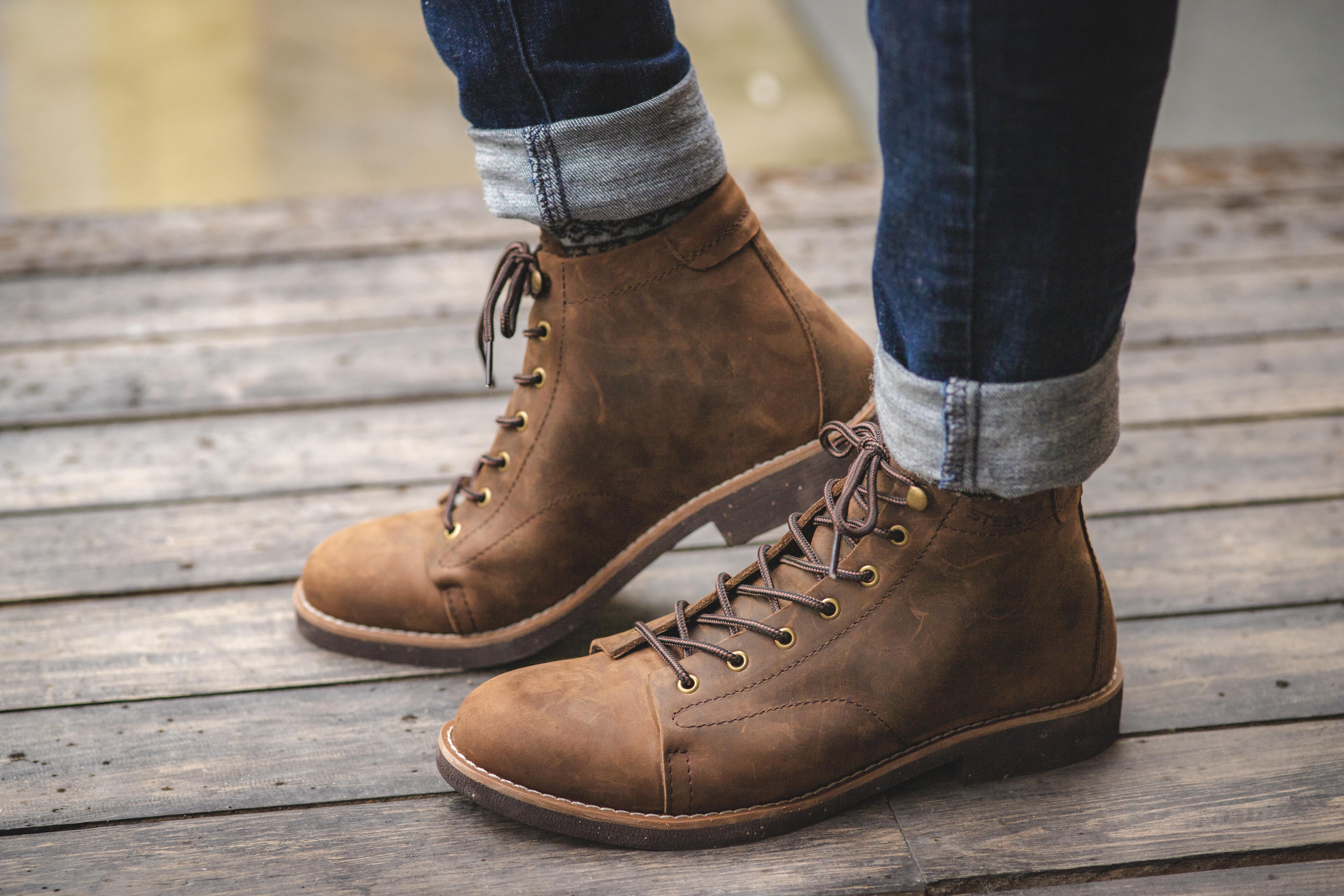 Giày Cao Cổ Nam - Ảnh 1